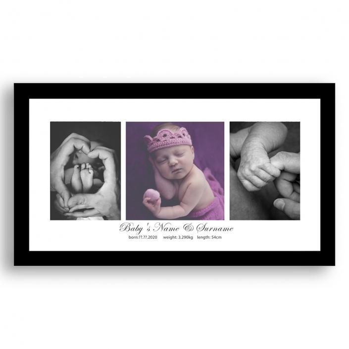 panoramic framed photo print