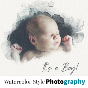 watercolor photography